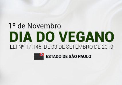 """São Paulo Institui o """"Dia do Vegano"""""""