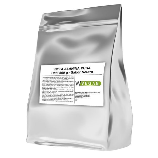 Beta Alanina Vegan 500g