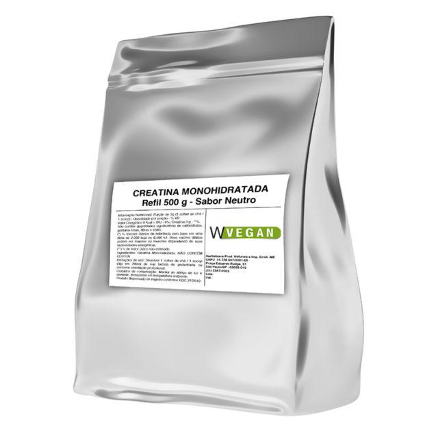 Creatina Monohidratada Vegan 500g