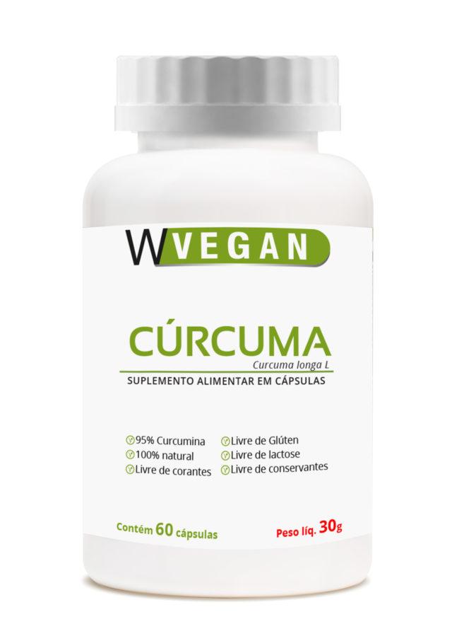 Curcuma 500mg 60 capsulas