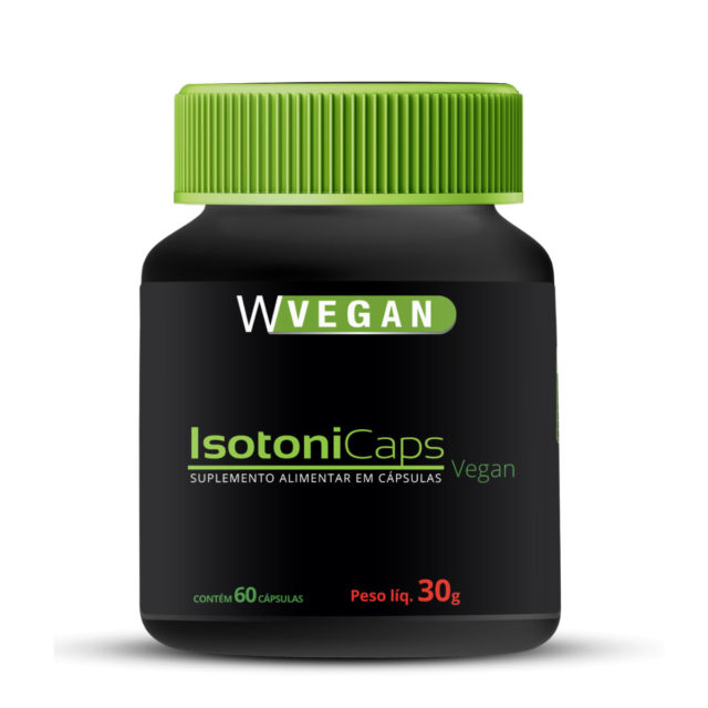 IsotoniCaps 500mg 60 capsulas