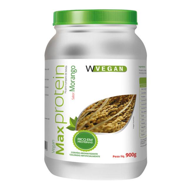 Max Protein 900g Morango WVegan