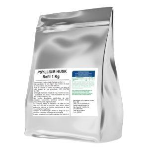 Psyllium 1Kg Embalagem Refil