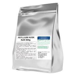Psyllium 500g Embalagem Refil