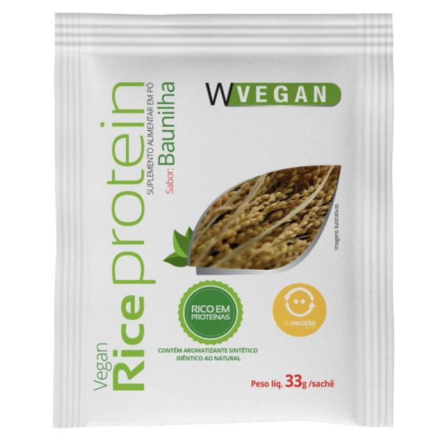 Rice Protein Sache 33g Baunilha