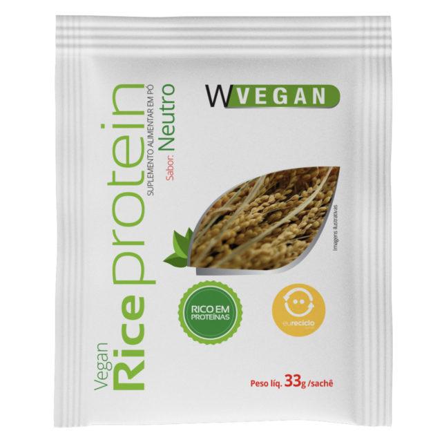 Rice Protein Sache Sabor Neutro 33g WVegan