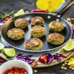 Falafel de Lentilha Com Proteína de Arroz Neutra