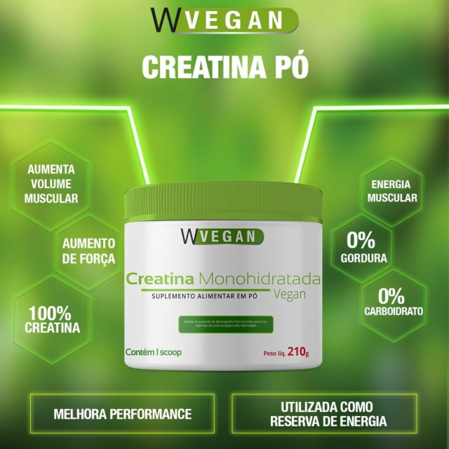 Creatina Vegan 210g