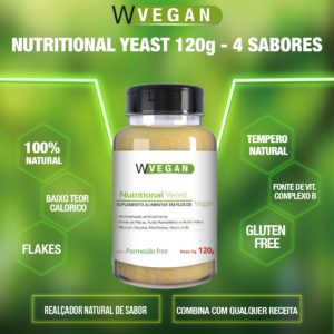 Nutritional Yeast 120g Flocos