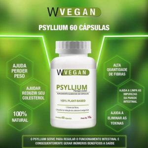 Psyllium 60 capsulas WVegan