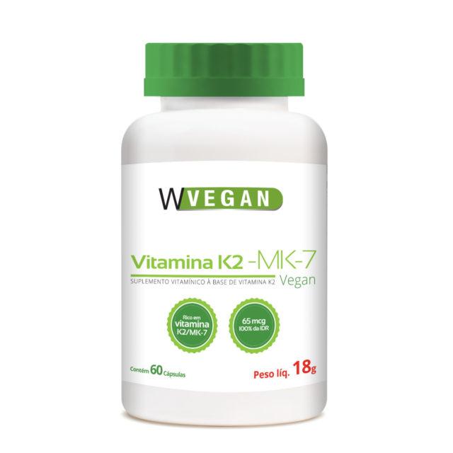 Vitamina K2 MK7 65mcg