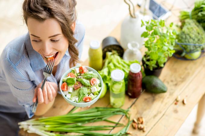 Mudança no corpo em uma alimentação vegana